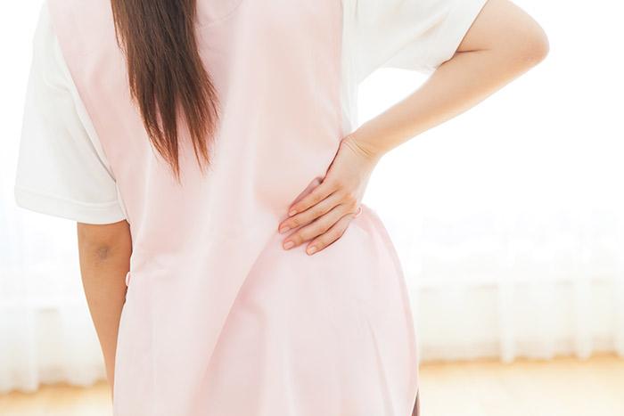 介護職などの腰を使う仕事に適したコルセット